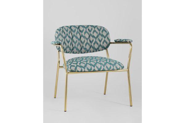 Кресло Кэрол орнамент купить в салоне-студии мебели Барселона mnogospalen.ru много спален мебель Италии классические современные